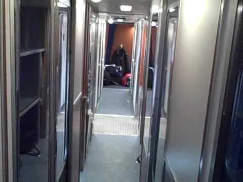 Amtrak Train Empire Builder Roomette Sleeper Room Tour And