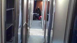 Amtrak Train Empire Builder Roomette/Sleeper room Tour and Review