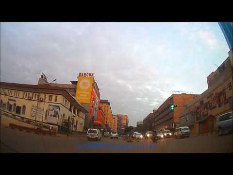 Kampala drive - Bugolobi through town to Makerere