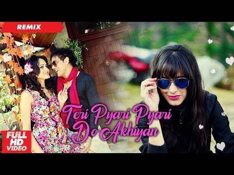 Teri Pyari Pyari Do Akhiyan | Official Remix | Funky Boyz | Bhinda Aujla & Bobby Layal |