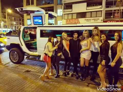 Limosinas Bogota Cumpleaños  Hummer Convertible  H2 Colombia Limosina Limusina