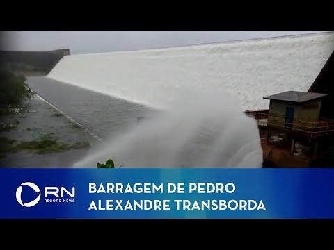 Barragem se rompe em Pedro Alexandre, na Bahia