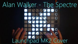 Video Alan Walker - The Spectre [Launchpad MK2 Cover + Project File] download MP3, 3GP, MP4, WEBM, AVI, FLV Agustus 2018