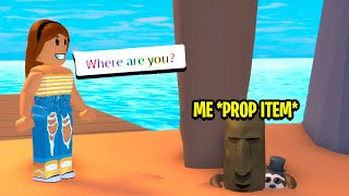 HIDE AND SEEK, BUT AS A PROP ITEM! (Roblox)