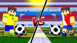 Download Video BRASIL vs COSTA RICA NA COPA DO MUNDO NO MINECRAFT !! MP3 3GP MP4