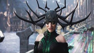 Thor 3 Ragnarok 2017 | Hela Best Memorable Moments Final Battle 1080P
