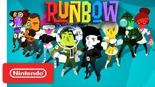 Runbow Launch Trailer - Nintendo Switch