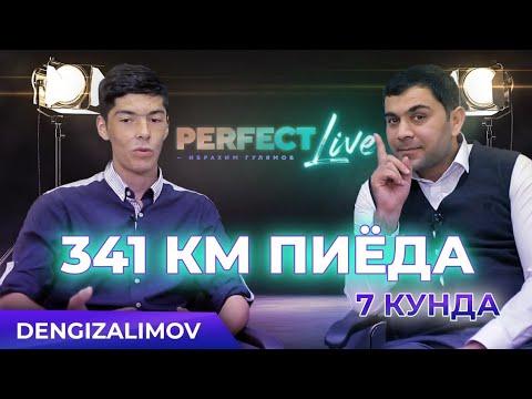 341 км пиёда юриб келган Ўзбек ўғлони ҳақида