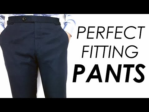 How Dress Pants SHOULD FIT