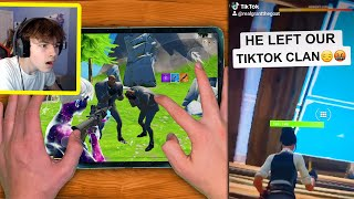 I Left my TIKTOK Clan in Fortnite...