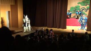 赤坂の舞台歌舞伎公演2014「勧進帳」弁慶引つ込み