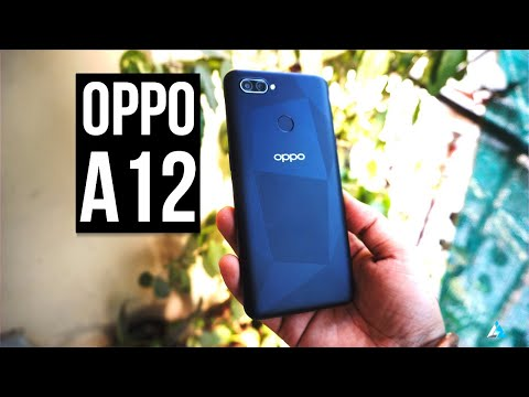 Oppo A12 Review in English and Unboxing, worth buying?