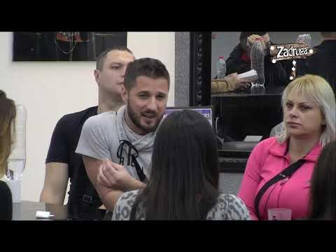 Zadruga 2 - Raspava Marka Miljkovića i Stanije - 07.02.2019.