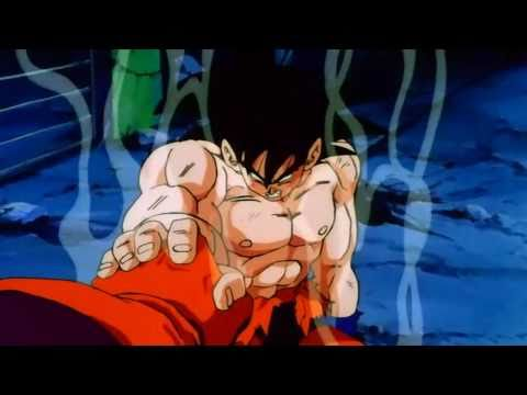 DragonBall Z - Goku Turns To A False Super Saiyan (720P) HD