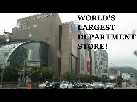 THE WORLD'S LARGEST DEPARTMENT STORE! SHINSEGAE - CENTUM CITY