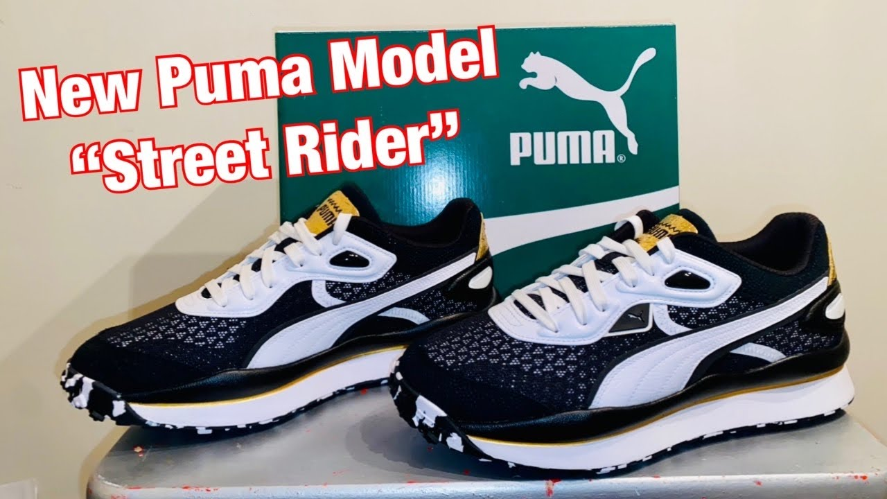 New Puma model, the Street Rider (not Style Rider) Review On Feet