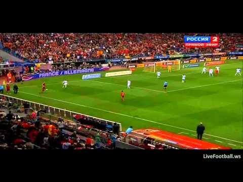 Spain - France Penalty Fabregas