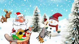 C Новым годом! Классное шуточное поздравления от поросшего бородой Деда Мороза:)