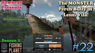 Fishing Planet 22 S5 The MONSTER Perch Bully of Lesni Vila
