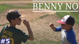 FAMILY MEMBERS FACE OFF IN AN EPIC GAME | Benny No | BASEBALL GAMES WITH LUMPY #5