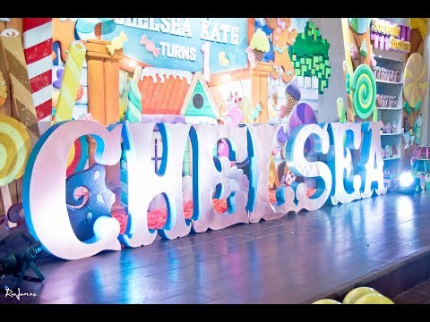 Chelsea's Candy Factory Themed 1st Birthday At  Acropolis Clubhouse