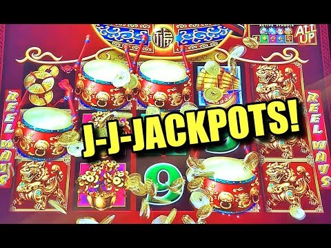 Biggest Jackpot Handpays Amp Big Wins On Dancing Drums Slot