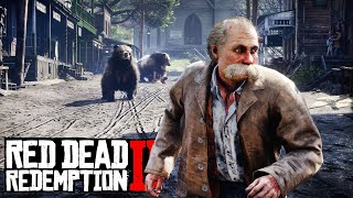 Could You Survive The Bearpocalypse? 1,000 Bears Invade Red Dead Redemption 2 [RDR2 PC Mods]
