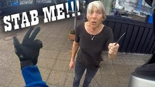 Stupid, Angry People Attack Bikers 2021 -  Best Motorcycle Road Rage!