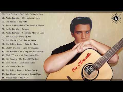 60s Acoustic - 60s  Hits - Best Songs Of The 1960s