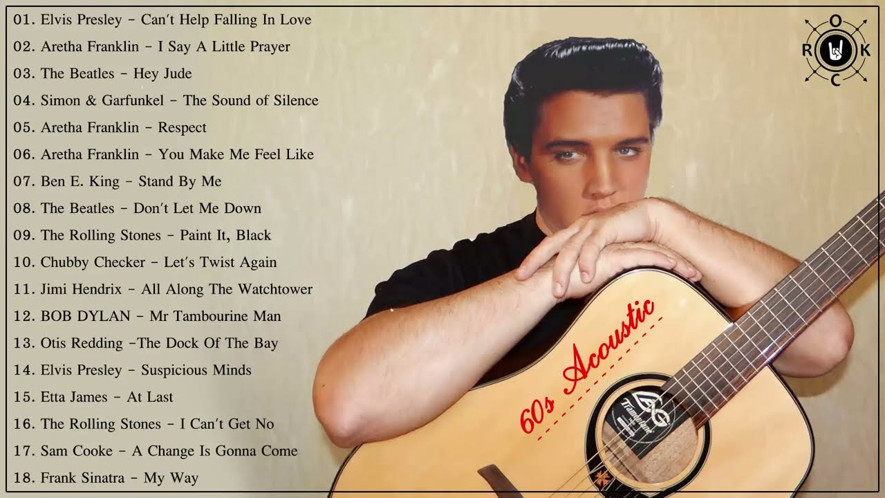 60s Acoustic 60s Music Hits Best Songs Of The 1960s Youtube