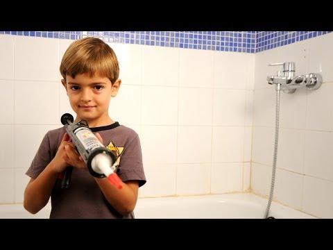 Limpiar eficazmente las juntas de los azulejos del suel - Como quitar la silicona del bano ...