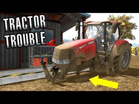 Farming Simulator 2017 | TRACTOR TROUBLE | American Outback | Episode 6