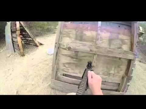 Channel Islands Airsoft, first test gopro
