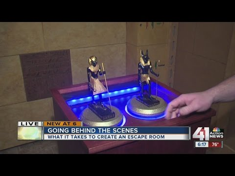 Behind the Scenes: What it takes to create an escape room
