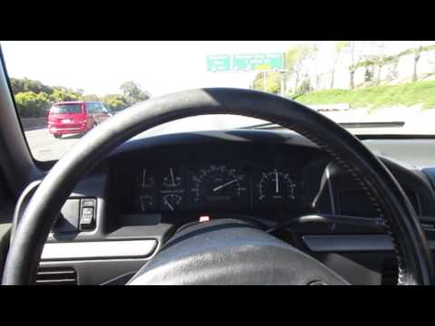 1992 Red Ford F-150 Driving