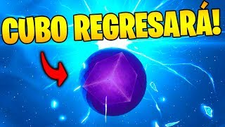 BUG to SEE THE RETURN OF THE CUBE KEVIN in THE GAME!! FORTNITE 😱🌌