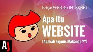 APA ITU WEBSITE ? (Penjelasan Sederhana mengenai Website)