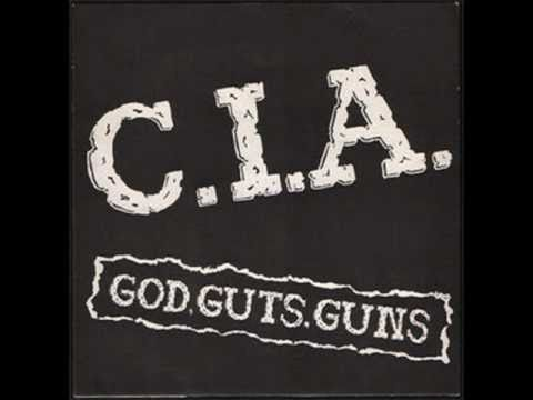 "C.I.A. - God, Guts, Guns 7"""