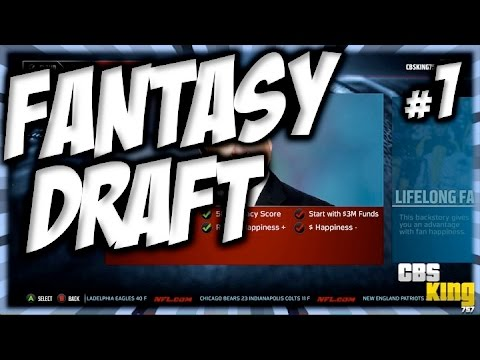 For quot madden 15 buccaneers connected franchise episode 1 fantasy draft