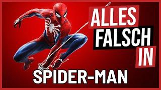 Alles falsch in Spider-Man 🛎️ GameSünden [SATIRE]