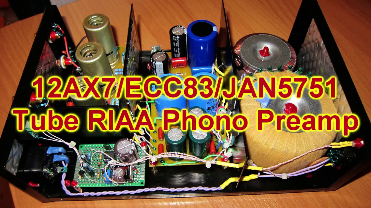 127 Tube Riaa Phono Preamp Youtube Circuit
