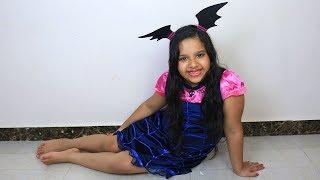 شفا تحولت إلى خفاشة صغيرة ! ! shfa turned to little vampirina