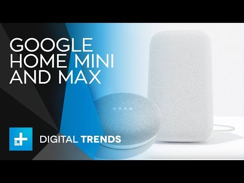 Google Home Mini and Max - Full Announcement