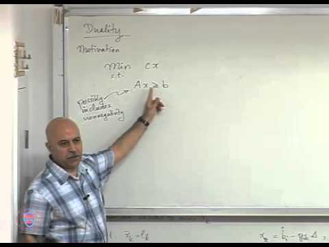 IE513 20110404 LECTURE28   Simplex for bounded variables and duality