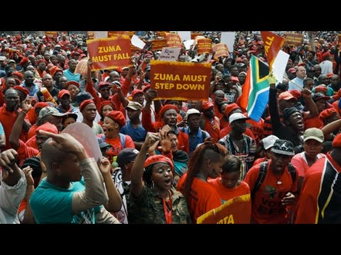 South African Demonstrators Demand Zuma's Resignation