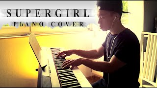 Anna Naklab ft. Alle Farben & YOUNOTUS - Supergirl (piano cover by Ducci, lyrics)