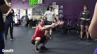 Hands-Free Front Squat