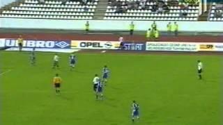 Славия - Шахтер. 90-я минута (Лига чемпионов 2000-01)