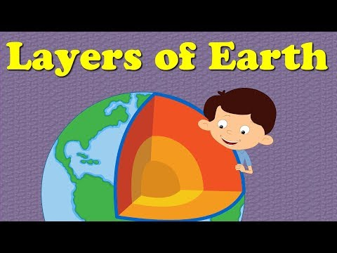 Layers of the Earth for Kids | #aumsum #kids #education #layers #earth
