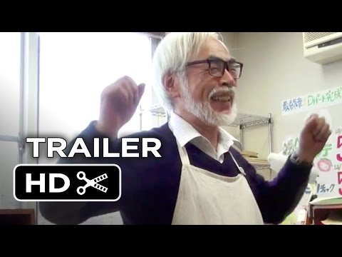The Kingdom of Dreams and Madness  US Release  2014  Hayao Miyazaki Documentary HD